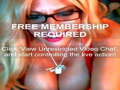 Taylor Stevens - iFriends Web Cam Show