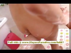 Yuki Aito asian teen nakec babe having fun in the batroom