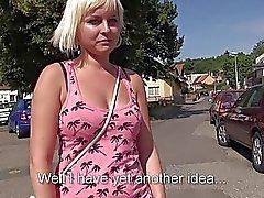 Секси Eurobabe Алексий Леоне общественный секса