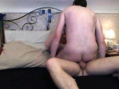 Nossa BF Faz-me experimentar o seu pênis Bareback