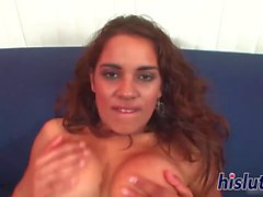 Hot POV banging with raunchy Latina