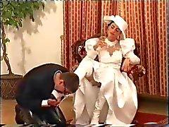 Champagner Brautkleid