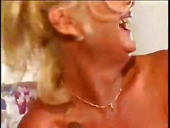 Sexy amateur granny has an interracial threesome and gets drilled