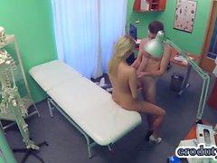 Sexy nurse hardcore and cumshot