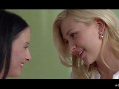 A Girl Knows - Soft and sensual lesbian play with gorgeous blonde and brunette Czech babes