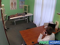 FakeHospital Hidden cameras catch female patient using
