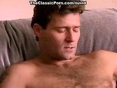 Джинна Файн Том Чэпмен на удивительное сексуальная сцена со порнографией