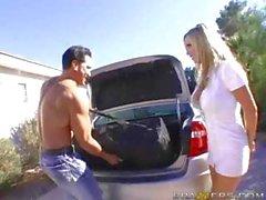 Nikki Benz Cock Massage
