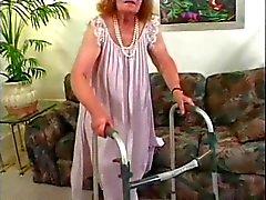 Grumpy Old Granny 3 kere Fucked alın