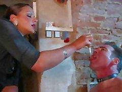 BDSM slave humiliating fuck