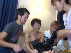 Masturbating asian twinks