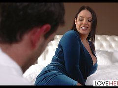 LoveHerFeet - Dream Girl Angela Whites Sexiest Foot Fetish Sex.