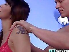 Hot Teen Gets Massaged