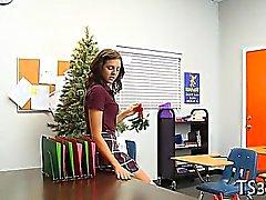 Des enseignants perce lycéenne
