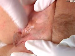 Young model close up pussy fuck