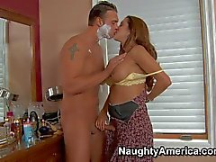 Fuck hungry mom Francesca Le takes on cock
