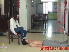 Chinese girl feet domination