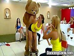 Dancingcock Gisteravond om wat lul