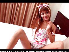 Transsexuellen Sandy Pyjama Cosplay Partei