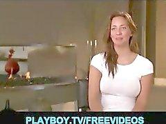 Quatro swingers único partes da mansão Playboy para o fim de semana