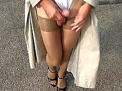 Des Pantyhose Freien Teil 5 von 6