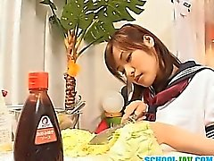Nao Ayukawa Asian doll gives amazing blowjob