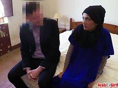 Abused Arab Petite. Money talks baby!