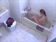 Guarda Voyeur - teen ragazza masturbarsi di vasca