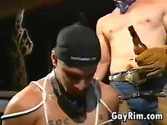 Gay по Ковбой доминирующей