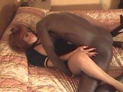 Stewardess Milks A Monster Black Dick