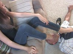 Tiffany FOOT GAGGING - excellent JOM