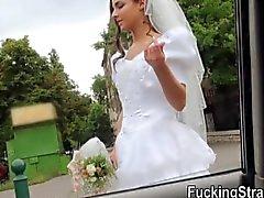 Public sex de la novia Desperate Amirah Adara se