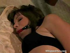 Behind a hot lesbian fetish scene