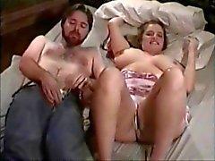 chubby girl cum on tits