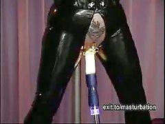 Kinky masturbation with Fucking Machine