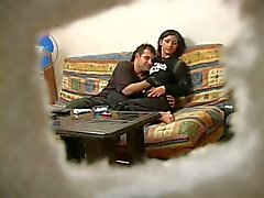 Turkish Teen with Russian Man