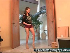 Rachel teen techno music both clothed an in the nude supercu