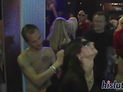 Saucy bombshells get nailed in an orgy