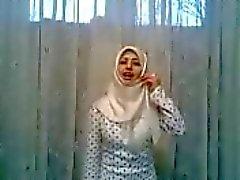 de hijab blancs crazy girl