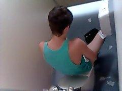 Toilette fing Wichser
