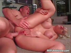 Hot and young blonde milf getting fucked part6