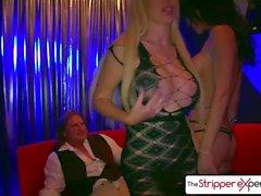 StripperExperience Jessica Jaymes & Nikki Benz stor kuk