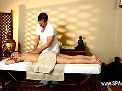 Very tricky spa of stunning masseur