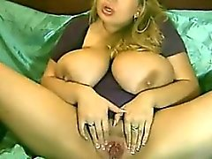 Chubby Blonde With Some Big Tits