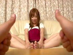 Kokomi naruses ticklish feet