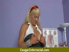 Cougar Wanting Black Hot Nasty Cock 8