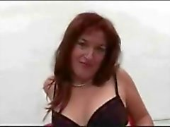 Wicked German MILF Gets Creamy Gangfucking