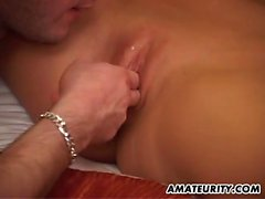 Close up of Wondrous Thai Tenderfoot blowjob