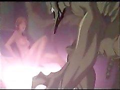 Hentai de anime girl fodido pelo um monstro de