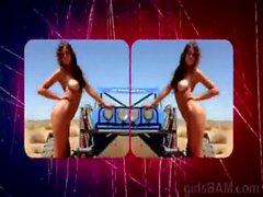 Brunette juggy introduce herself in new XXX reality of hV-Badass-Season-1-Ep-5-4